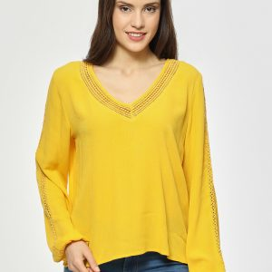 blouse jaune Best Mountain