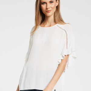 blouse blanc gaudi