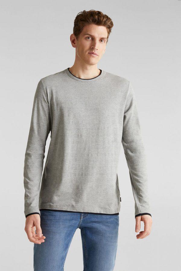 tshirt gris esprit