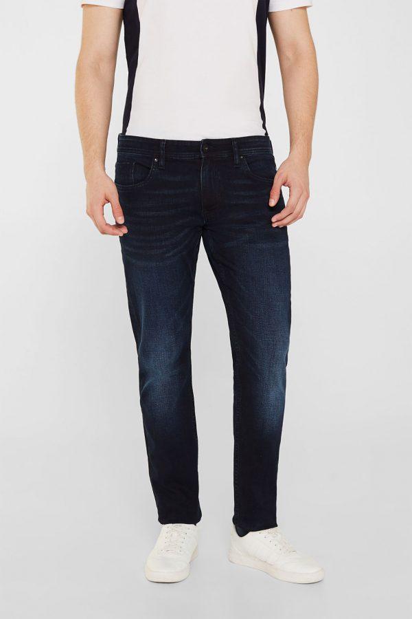 jeans bleu foncé esprit