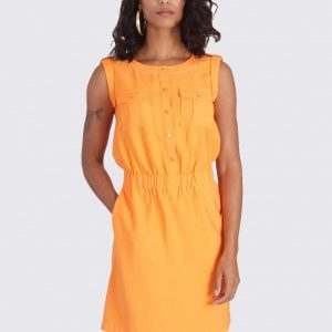 robe orange kaporal