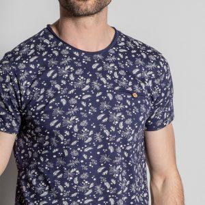 tshirt bleu deeluxe