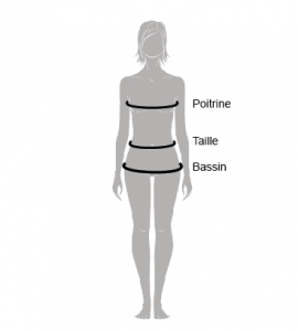 taille vetement femme