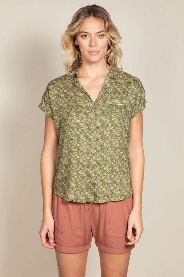 blouse imprimé deeluxe