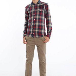 chemise rouge kaporal