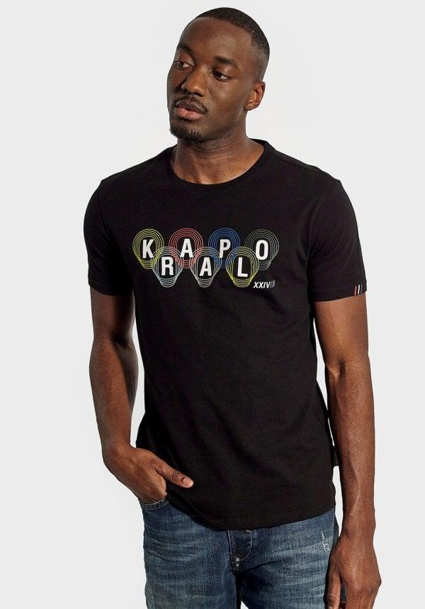 tshirt noir kaporal