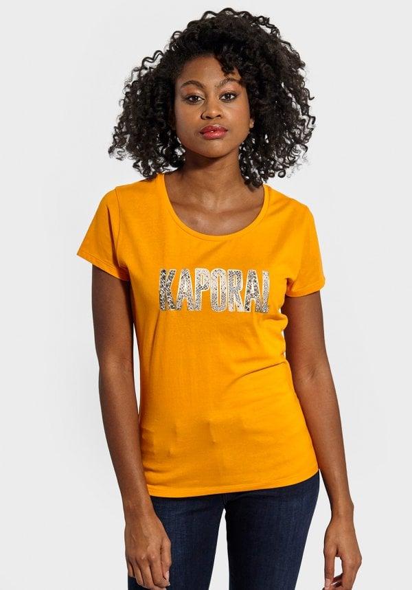 tshirt orange kaporal