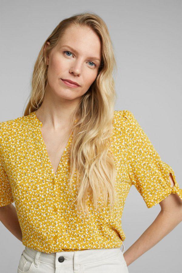 blouse jaune esprit