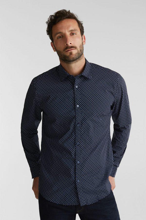 chemise marine esprit