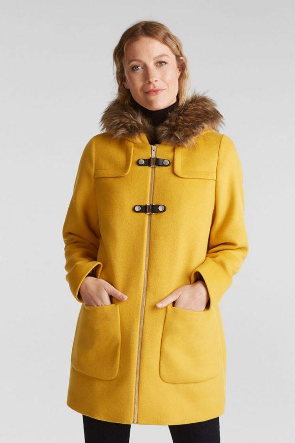 manteau jaune esprit