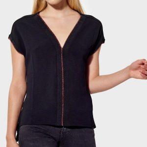 blouse noire kaporal