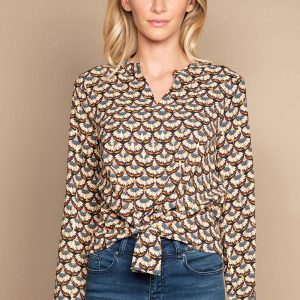 blouse multicolore deeluxe