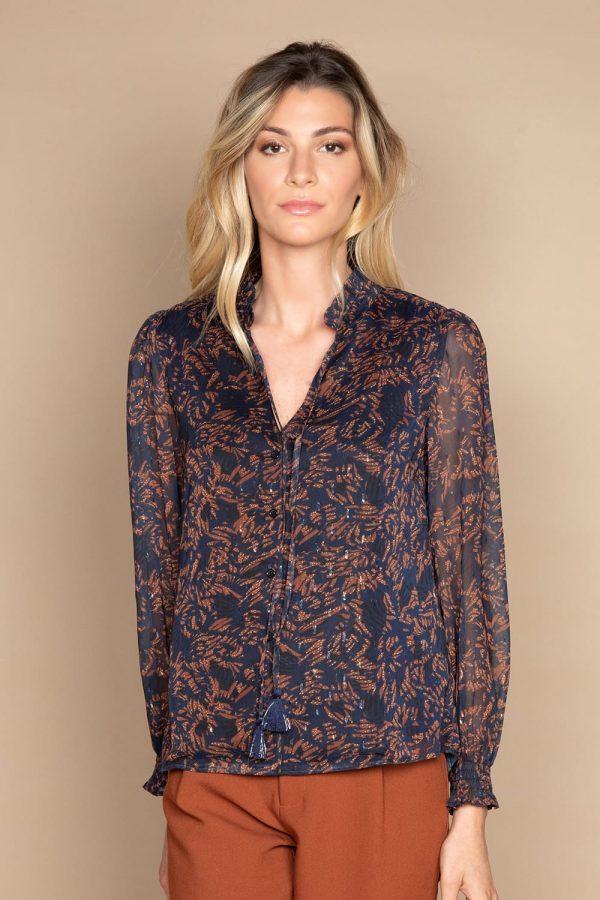 blouse marine deeluxe