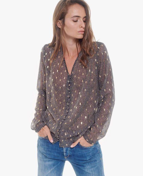 blouse grise LTC