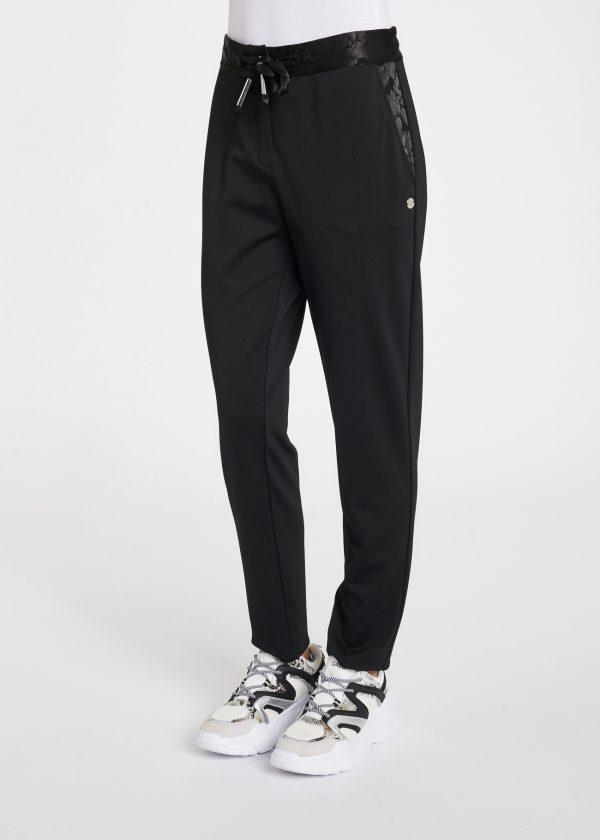 pantalon noir gaudi
