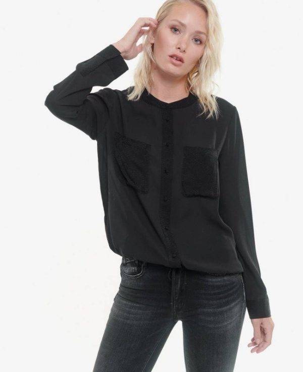 chemise noire LTC