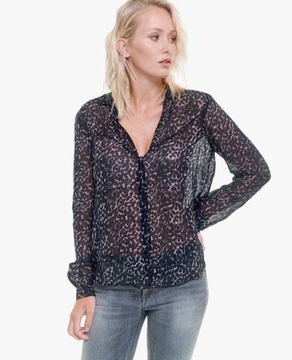 chemise noir LTC