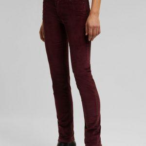 pantalon bordeaux esprit