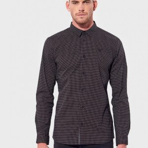 chemise noir kaporal