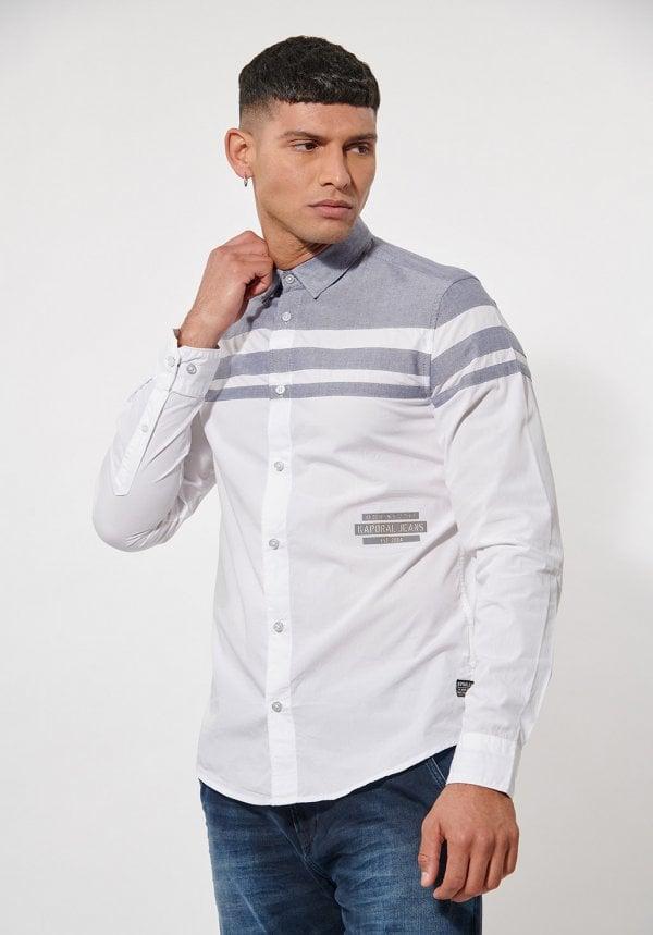 chemise blanche kaporal