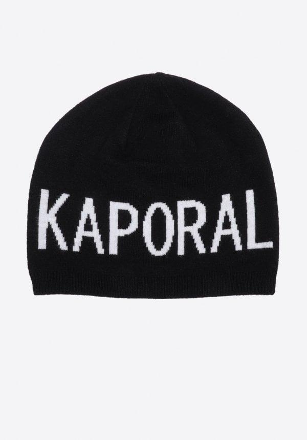 bonnet noir kaporal