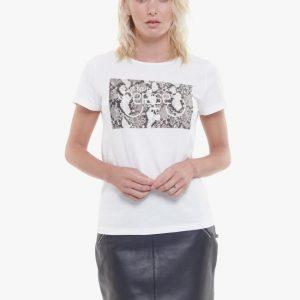 tshirt blanc le temps des cerises