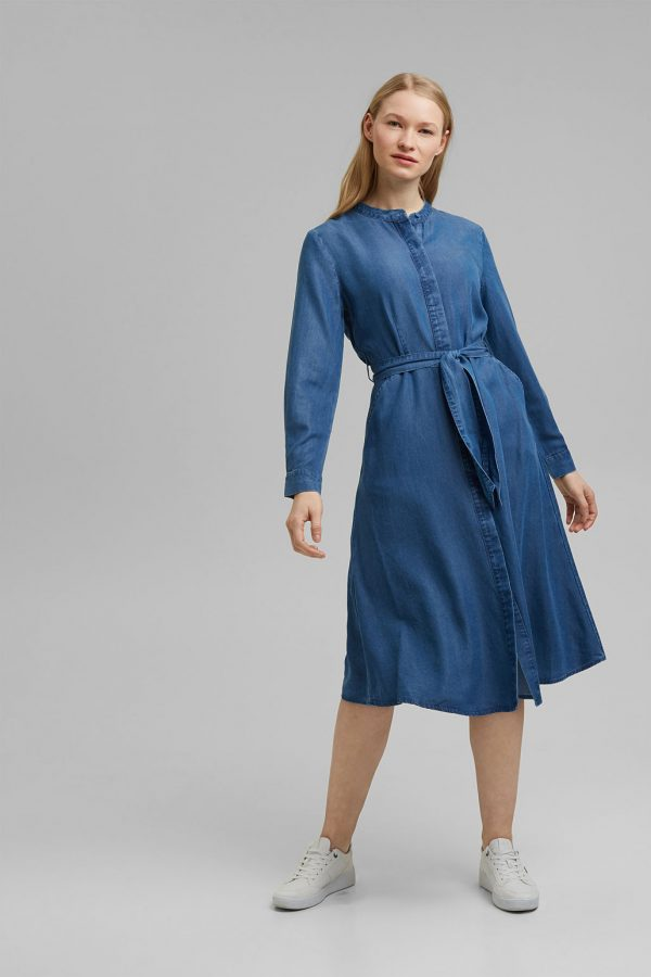 robe look denim esprit