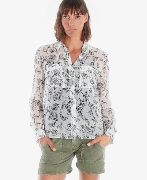 blouse imprimé floral LTC