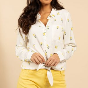 blouse motif citron deeluxe