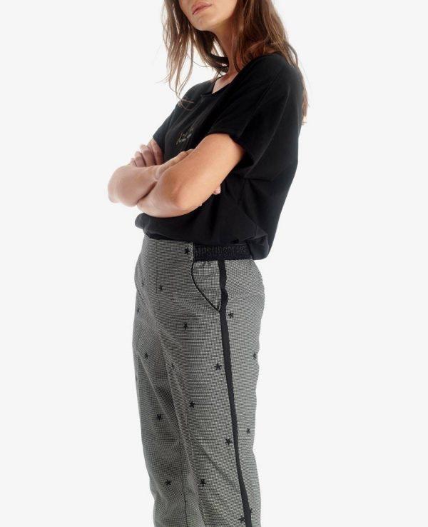 pantalon imprimé étoile LTC