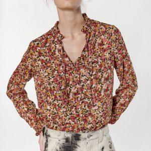 blouse motif à fleurs LTC