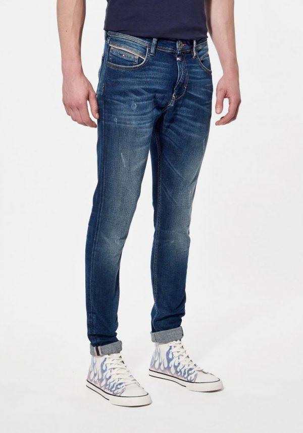jeans slim bleu kaporal